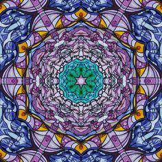 Obra original: Eclíptica por AnyAlva #mandala #mandalas #zen #mandalaart #work #life #lifestyle #estilodevida