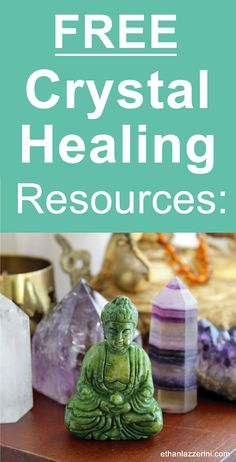 FREE Crystal Healing Resources at Ethanlazzerini.com. Get instant access to a growing library of  articles and how-to guides and tips for working with crystals. #crystalhealing
