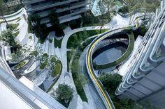 Landscape And Urbanism, Park Landscape, Landscape Architecture Design, Concept Architecture, Urban Landscape, Lanscape Design, Landscaping A Slope, Architectural Floor Plans, Public Architecture