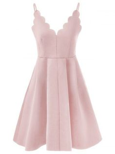 GET $50 NOW | Join RoseGal: Get YOUR $50 NOW!http://m.rosegal.com/prom-dresses/spaghetti-strap-rippled-edge-open-back-dress-634486.html?seid=3801737rg634486