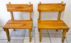 Bancos de madeira maciça e pallets! Inove Eco Móveis (11)99894-0115 Whatsapp
