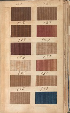 1850-1900 Textile Sample Book | Historical Fabrics | Pinterest ...