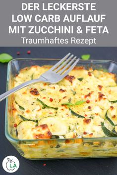 Healthy Dinner Recipes, Low Carb Recipes, Vegetarian Recipes, Law Carb, Zucchini Casserole, Easy Meals, Food And Drink, Healthy Eating, Healthy Lunches