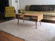 danish modern style coffee table.