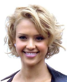 Hmmm- I want to try out a curly/ wavy style on the short hair..j