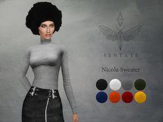 Lana CC Finds - Nicola Sweater by Sentate
