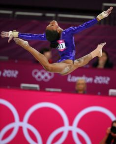 Gabby Douglas earned gold medals in the 2012 London Olympics for both Team & Individual Gymnastics All-Around
