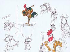 Robin des Bois - The Art of Disney Disney Sketches, Disney Drawings, Cartoon Drawings, Drawing Disney, Disney Concept Art, Disney Art, Walt Disney, Croquis D'animation, Croquis Disney