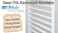 Custom Interior Window Shutters: Frame and Tilt Rod Style Options | Austin Window Fashions