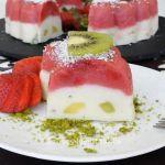 Meyveli Sütlü İrmik Tatlısı
