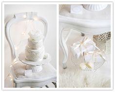 Inspiration Shoot: Winter White Dessert Table