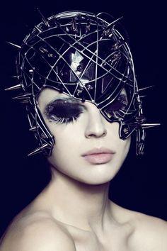 Editorial :Alien Dolls  Ph: Susi Belianska  St: Barbara Palladino  Makeup and Hair : Valeria Orlando
