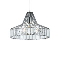 Elmas 42 Pendant – Chrome
