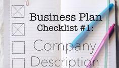 Coffee Shop Business Plan: Company Description