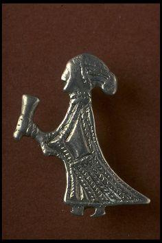 18093 Religious figure Öland Köping Sweden Sverige Iron Age Viking era