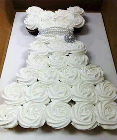 Cupcake dress Hen party idea