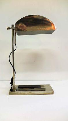Art Deco Tischlampe Leuchte Bodenleuchte Lampe Lamp ceramic brass Fuss 35 cm