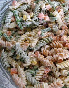 Recipe for Bacon Ranch Pasta Salad