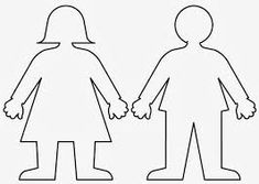 flat stanley template Little Girl Body Outline Template NextInvitation Templates . People Coloring Pages, Coloring Pages For Girls, Coloring Pages To Print, Coloring Book Pages, Coloring For Kids, Printable Coloring Pages, Colouring, Cut Out People, Human Body