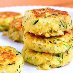 Zucchini Cakes - Healthy Recipes: 10 Green Foods for St. Patrick's Day - Shape Magazine