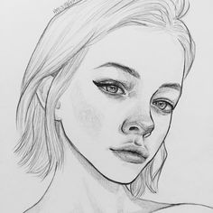 "7,885 Me gusta, 22 comentarios - Yuriy Strigul (@onyxkawai) en Instagram: ""#dailydrawing pencil ✏️ sketch portraits drawn by @hyejung1011 artist from South Korea  #絵 #イラスト…"""