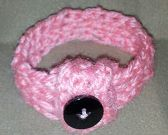 Crochet Button Bracelet  Handmade crochet bracelet. Bracelets stretch and slip on or unbutton and button on.  One size fits most.  Please allow 7-10 days for production and shipping.   http://angelscreation.webs.com/paypalstorefront.htm#   $4.50