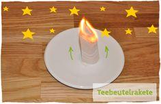 Ein Klassiker: Die Teebeutelrakete - DIY Weihnachtsgeschenk & Experiment