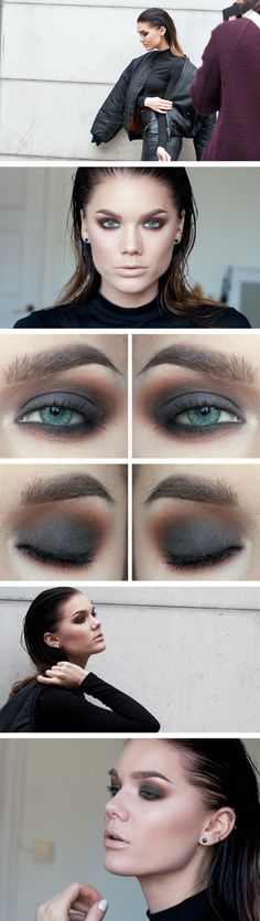I love grunge looks like this one. Even though it takes a while to blend.