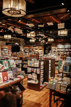 Shop! Design Awards- WOW that's a lot in a small space! Ck out the books hanging from the ceiling!