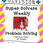 This problem solving pack is packed full of both single and multistep problem solving for addition and subtraction practice. It is designed to be used as weekly practice either in school or as homework with one problem being done each day. Common Core Curriculum, Common Core Math, Multiplication Problems, Multiplication Practice, Math 5, Addition And Subtraction Practice, Third Grade Math, Fourth Grade, Grade 3