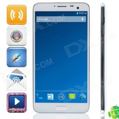 Elephone P8 MTK6592 Octa-Core Android 4.3.1 WCDMA Bar Phone w / 5.7