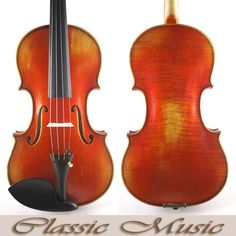 """209.99$  Buy here - http://ali5np.worldwells.pw/go.php?t=2024904000 - """"Antique style Handmade Varnish,No2453,Guarneri Del Gesu """"""""Lord Wilton""""""""1742 Copy ,With Lable,Powerful sound ,European Spruce"""""""