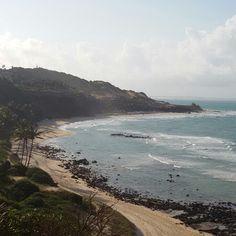 Praia do Amor em Tibau do Sul, RN