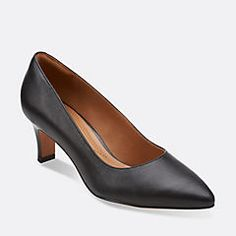 Crewso Wick Black Leather - Shoes for Women - Clarks® Shoes