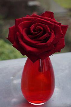 Seidenblumen 5  x Lilie burgund  Blütenköpfe 20 cm Kunstblumen