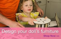 DIY doll furniture