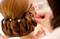 25 Preciosos Peinados Recogidos para Novias - Peinados