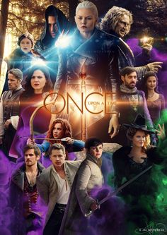 Awesome cast of Once on an awesome poster for awesome Once S5