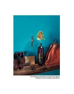 From our editorial: ENTROPY OF FORMS. Photo: Angela Improta. Fashion: Sabrina Mellace - Filippo Scrivani. Set designer: Chiara Arsini. Mandala Creative Productions. Dolce&Gabban shoes, Bottega Veneta card holder, Hermès organizer, Eberhard&Co. watch, Gucci backpack, Venini Bolle vase. #dolcegabbana #shoes #bottegaveneta #cardholder #hermes #organizer #eberhardandco #watch #gucci #backpack #veninibolle #vase @Dolce & Gabbana @Bottega Veneta @Hermès @gucci