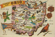 Simple printable state of ohio map file ohio pride pinterest 5 columbus cincinnati and clevelandeven though the rest of us know thats only scratching the surface of ohio fandeluxe Choice Image