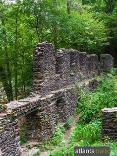 Top Atlanta in-town hikes: explore ruins of a Civil War paper mill at Sope Creek Park