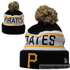 Pittsburgh Pirates MLB Biggest Fan Pom Beanies Knit Hats Cap 275b8dbc9a2