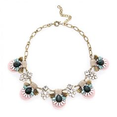 deco statement necklace - Multi