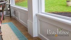 Gable Porches | Peachtree Decks & Porches Internal Design, Building Code, Site Visit, Decks And Porches, Can Design, Building Materials, Storage, Outdoor Decor, Home Decor