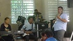 Los músicos.