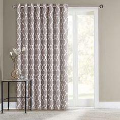 Sonoma Goods For Life Fret Patio Door Curtain 100