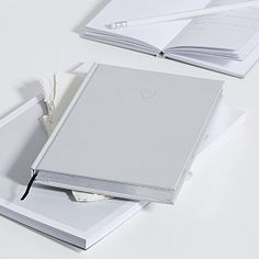 Buy Heart Notebook A5 - from The White Company
