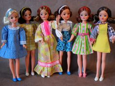 My Vintage Sindy Dolls & Outfits From 1974 - From my own collection
