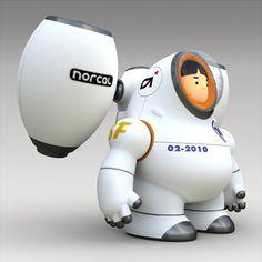 Rocket Boy by Norio Fujikawa - via http://bit.ly/epinner