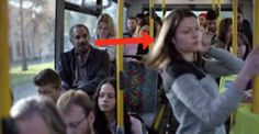 This Woman Doesn't Want To Sit Next To Him. Seconds Later He Is Blown Away When He Finds Out Why.